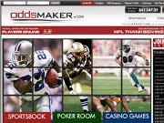 nfl betting at oddsmaker